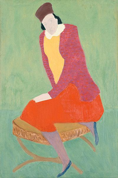 Artist's Wife - Milton Avery