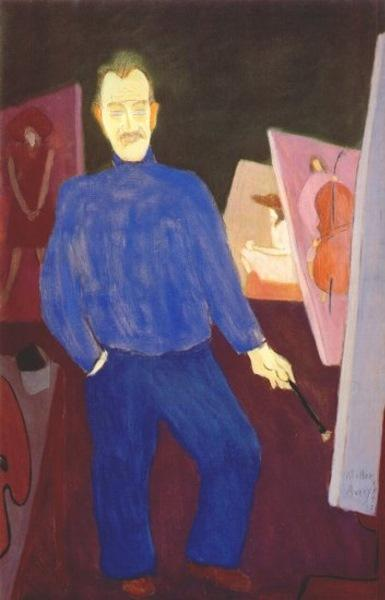 Self-Portrait, 1947 - Milton Avery