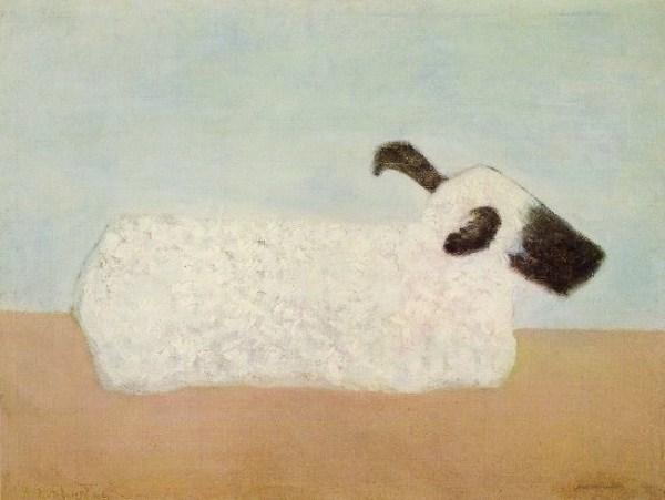Sheep, 1952 - Milton Avery