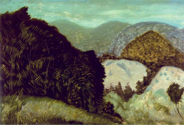 Vermont Hills, 1936 - Milton Avery