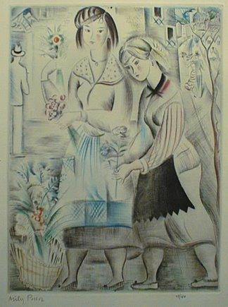 Panier de Fleur, 1920 - Mily Possoz