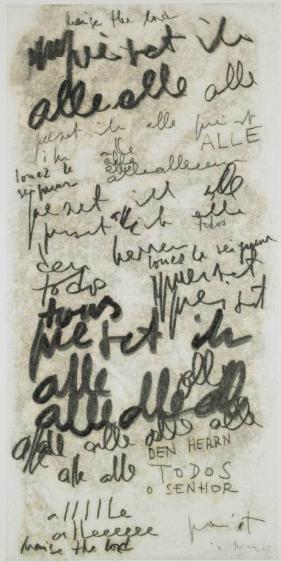 Untitled (Alle), 1965 - Мира Шендель