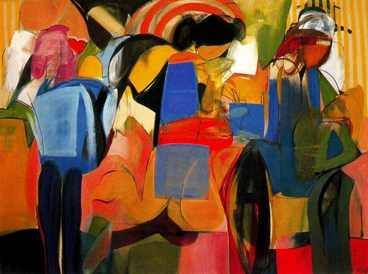 Facade - Miriam Schapiro