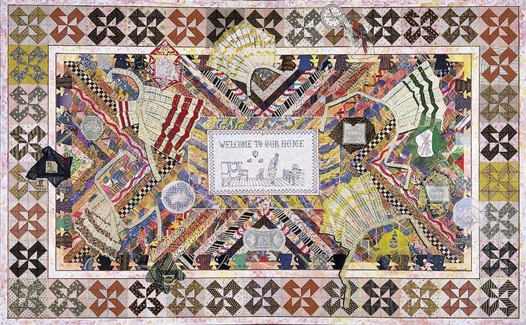 Wonderland, 1983 - Miriam Schapiro