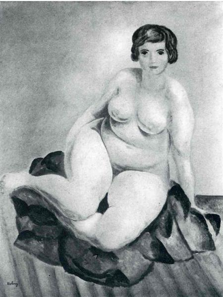 not identified - Moise Kisling
