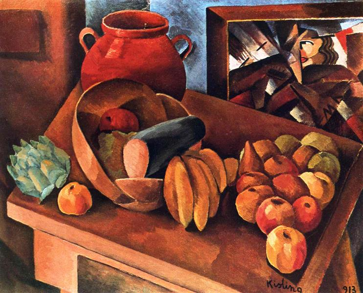 Still life with fruit, 1913 - Moise Kisling