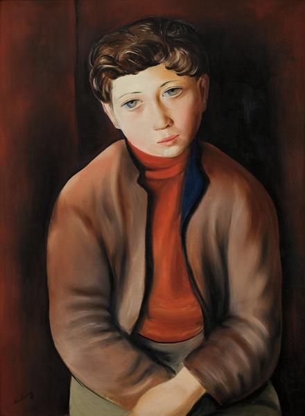 Young Breton, 1931 - Moise Kisling