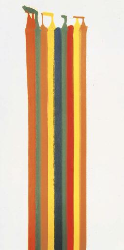 Pillar of Fire, 1961 - Morris Louis