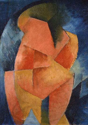Figure A (Geometrical Patterns), 1913 - Morton Shamberg