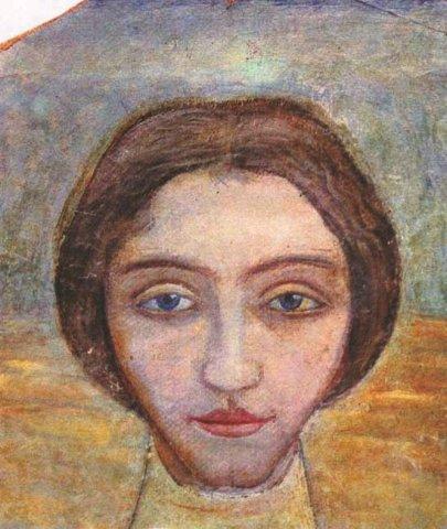 Portrait of a woman, 1909 - Mykhailo Boychuk