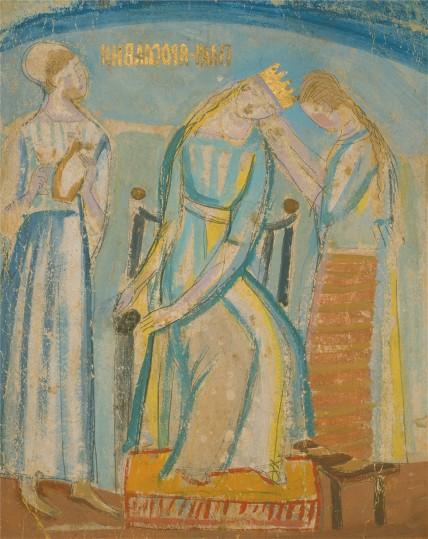 Yaroslavna's Lament, c.1915 - Mykhailo Boychuk