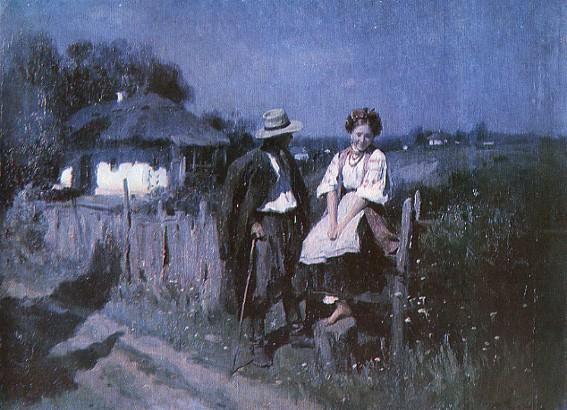 A Date - Mykola Pymonenko