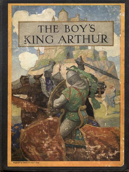 Cover of The Boy's King Arthur, 1922 - N.C. Wyeth