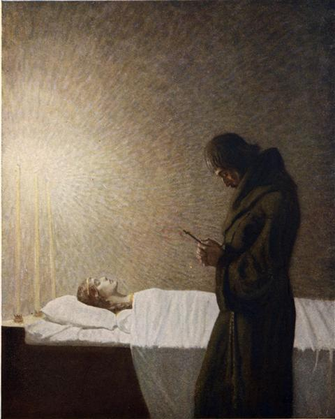 The death of Guenever - N.C. Wyeth
