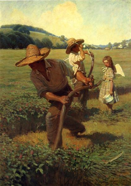 The Scythers, 1908 - N.C. Wyeth
