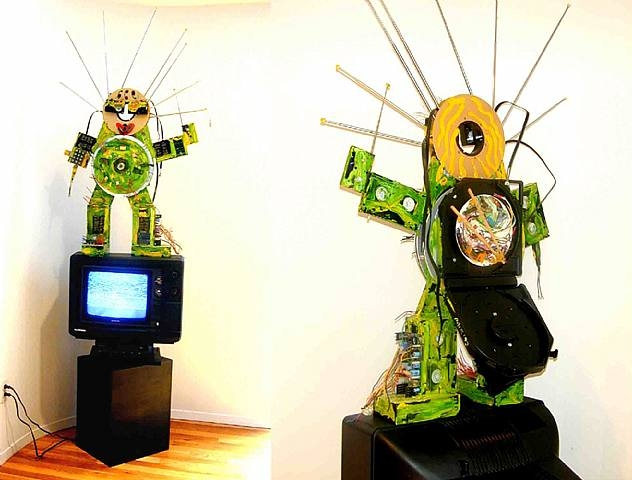 Fin de Siecle, 1993 - Nam June Paik