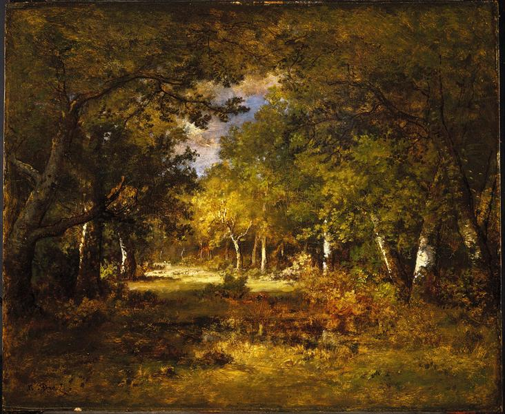 Forest Scene - Narcisso Virgilio Díaz de la Peña