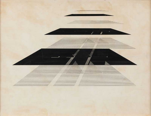Untitled, 1970 - Nasreen Mohamedi