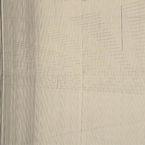 Untitled, 1970 - Nasreen Mohamedi