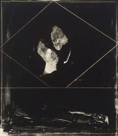 Head Shapes, 1964 - Nathan Oliveira