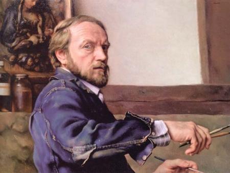 Self-Portrait, 1987 - Nelson Shanks