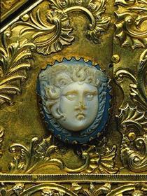 Cameo with Medusa Head, 1st Cent. after Christ - Nicholas of Verdun
