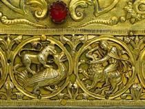 Hunting Frieze, Battle with Lion - Nicholas of Verdun