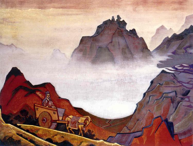 Confucius the fair, 1925 - Nicholas Roerich