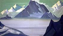 Land of snow people - Nikolai Konstantinovich Roerich