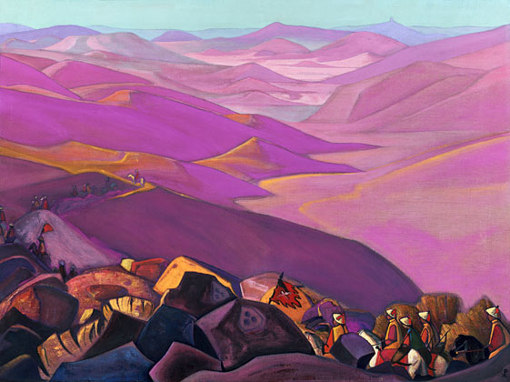 Mongolia (Campaign of Genghis Khan), c.1937 - Nicholas Roerich