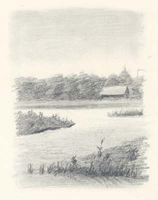 Part of Izvara Lake, 1893
