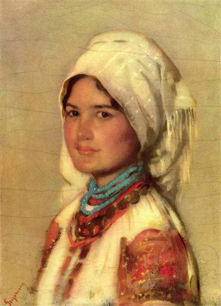 Peasant Woman from Muscel - Nicolae Grigorescu
