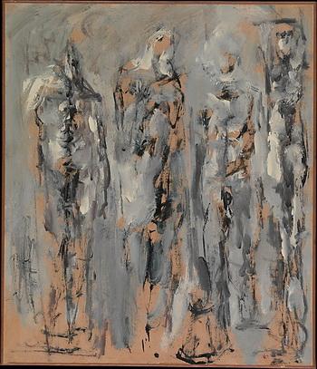 Untitled (Four Figures), 1951 - Николас Карон