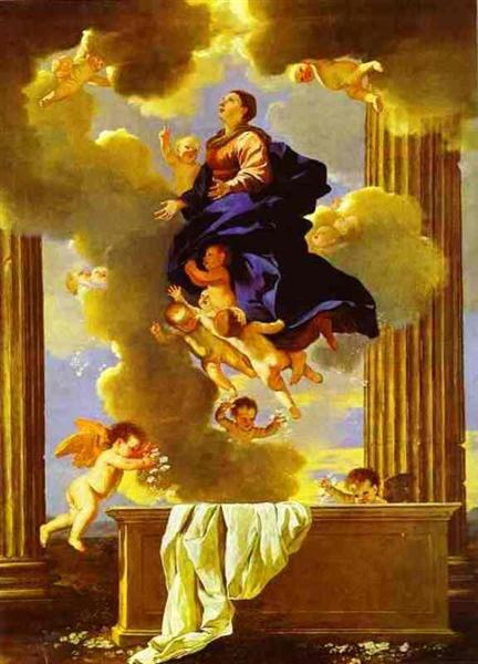 Assumption of the Virgin, c.1638 - Nicolas Poussin