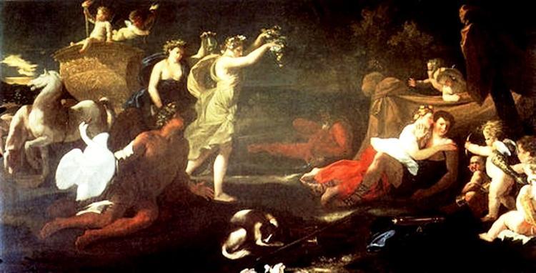 Cephalus and Aurora, 1624 - 1625 - Nicolas Poussin