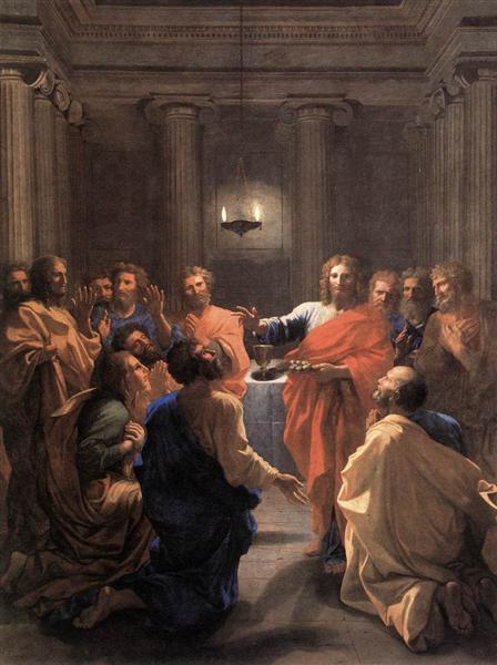 Institution of the Eucharist, 1640 - Nicolas Poussin