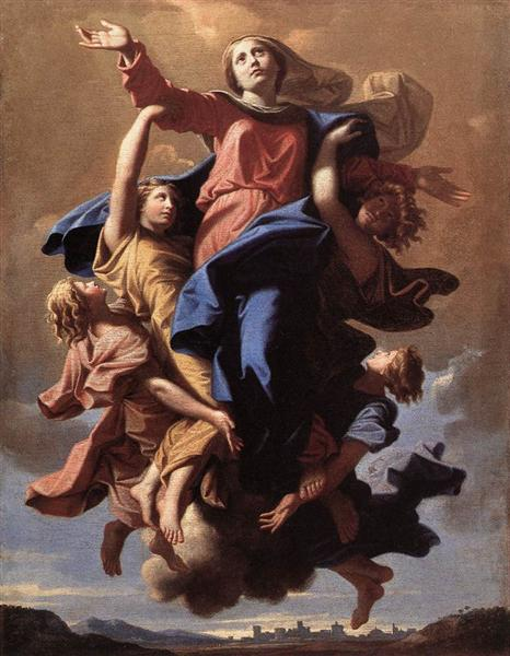 The Assumption of the Virgin, 1649 - 1650 - Nicolas Poussin