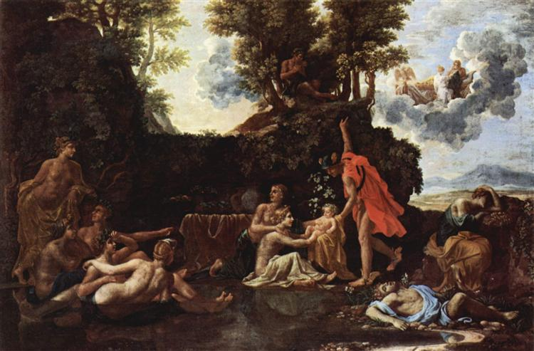 The birth of Baccus, 1657 - Nicolas Poussin
