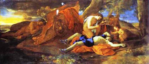 Venus Weeping over Adonis - Nicolas Poussin