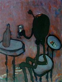 Estátua de Fernando Pessoa Autor Desconhecido - Нікіас Скапінакіс
