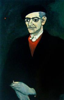 Retrato de Almada Negreiros - Нікіас Скапінакіс