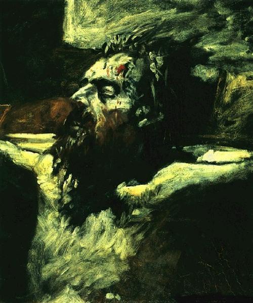 Голова Христа - Николай Ге