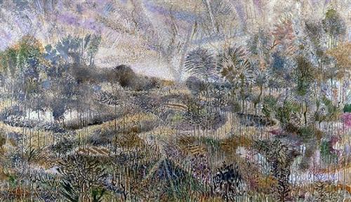 Rainy Landscape II - Nikos Hadjikyriakos-Ghikas