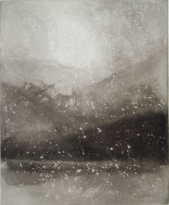 Evening Snow, Coniston, 1999