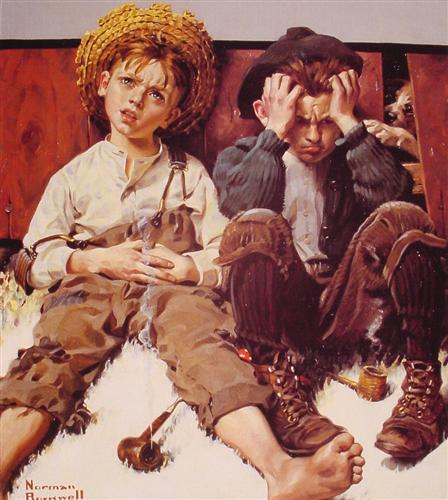 Retribution - Norman Rockwell