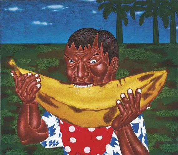 Banana King, 2002 - Nyoman Masriadi