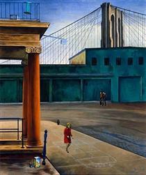 South Street Stoop - O. Louis Guglielmi