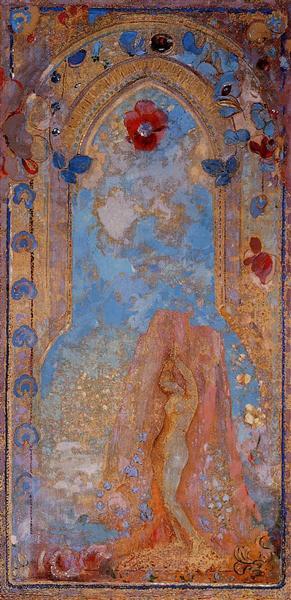Andromeda, c.1912 - Odilon Redon