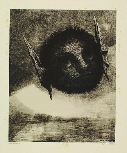 Gnome, 1879 - Odilon Redon