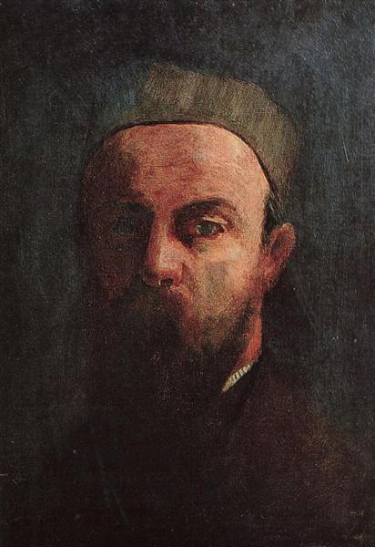 Self Portrait, 1880 - Odilon Redon